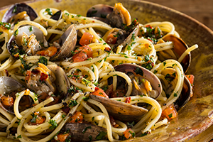 Vermicelli with Clams