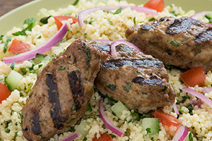Middle Eastern Couscous Salad with Lamb