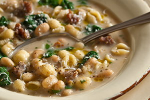 Beans, Greens, and Sausage Soup