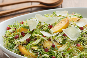 265_Shredded Brussels Sprout Salad with Persimmon