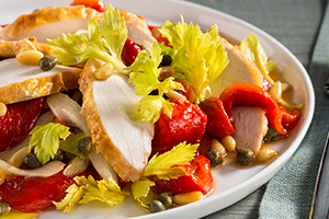 Chicken Salad with Pine Nuts