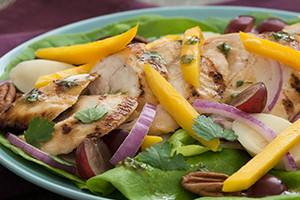 29_Grilled Chicken & Mango Salad with Cilantro Lime Dressing