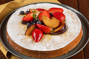 Almond Brunch Cake