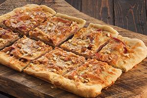 Prosciutto and Pine Nut Pizza