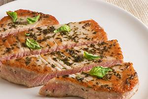 Tuna with Herbs