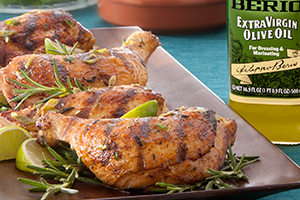 Rosemary Scented Grilled Chicken