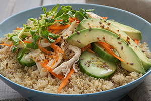 63_Quinoa Bowl with Chicken & Avocado