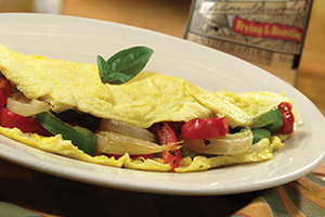 Egg and Pepper Omelette