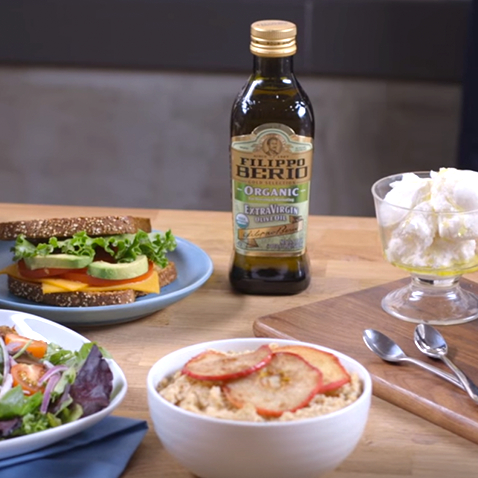 How To Get Filippo Berio Olive Oil into Your Day