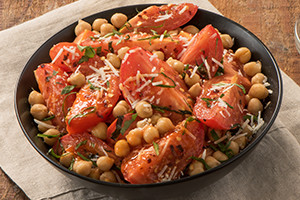 Roasted Tomato and Garbonzo Beans