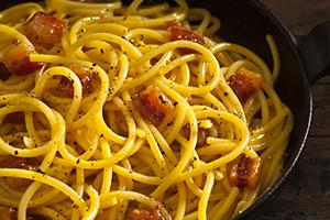 Coal Miners Style Spaghetti