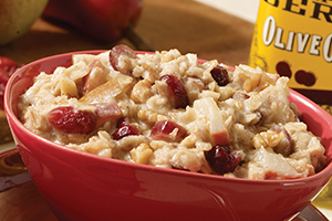 Cran-Pear Oatmeal
