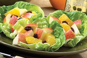 Apple-Orange-Raisin Fruit Salad