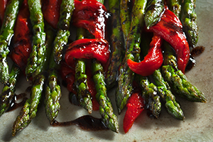 Asparagus and Red Pepper Salad