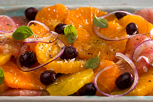 Fresh Citrus Fruit Salad
