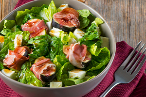 Fig and Romaine Salad