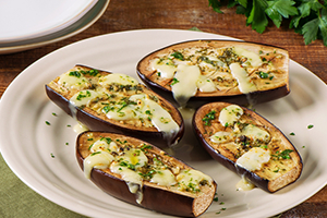 Baked Eggplant with Fontina Cheese