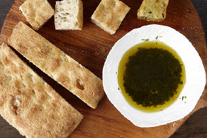 Lemon Olive Oil Dip