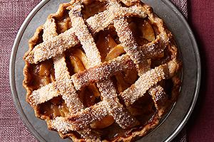 Caramel Pear Pie