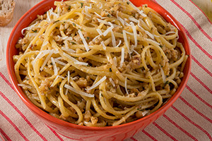 Linguine with Walnut Sauce