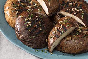Balsamic-Marinated Portobello Steaks