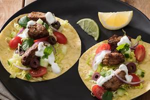 Pork Souvlaki Tacos