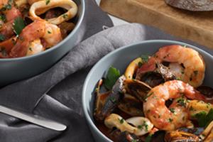 Smoky Spanish Seafood Stew