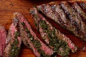 Pesto Stuffed Steaks