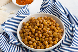 Crunchy Parmesan Roasted Chickpeas