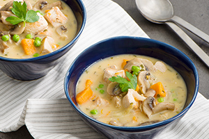 Hearty White Wine Turkey Stew