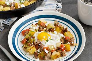 Mediterranean Breakfast Hash
