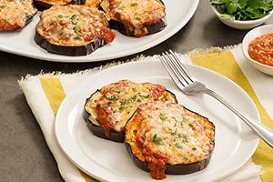 Spicy Weeknight Eggplant Parmesan