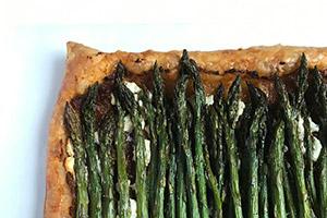 Asparagus Pesto Tart